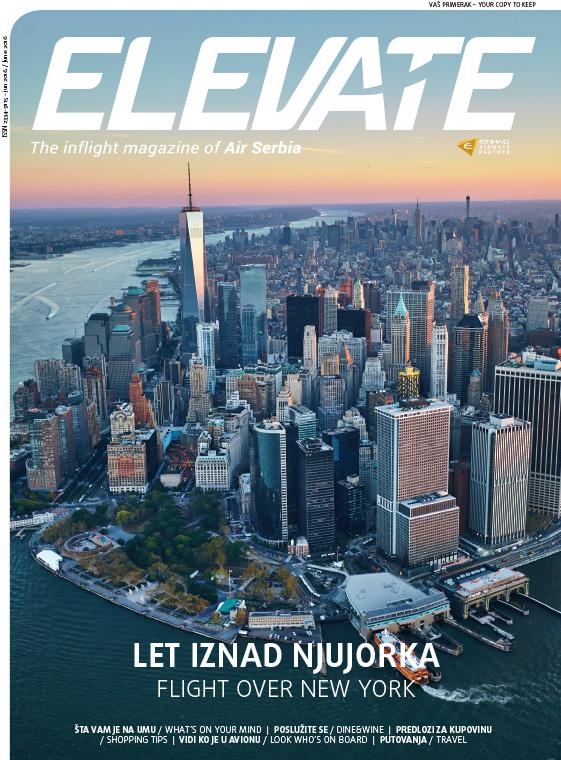Air Serbia Elevate magazin – Juni 2016