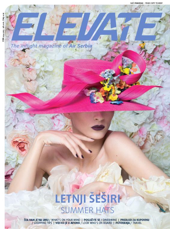 Air Serbia Elevate magazin – Juli 2016