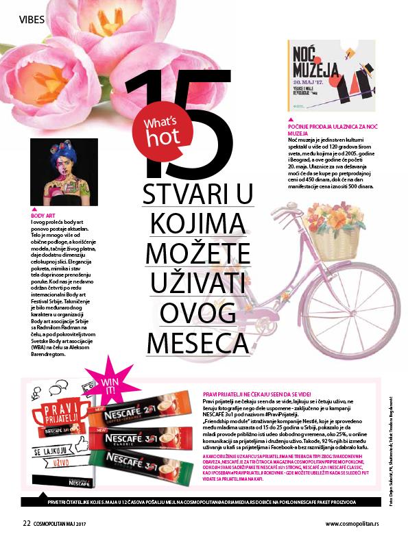 Cosmopolitan – April 2017